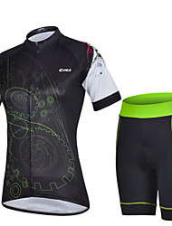 Women Outdoor Sport Bicycle Bike Cycling Clothing Wear Jersey Shorts Sets