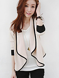 Women's Spring Latest Casual All Match Long Sleeve Cardigan  Coat