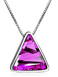 Crystal necklace Austria imported clothing accessories fashion crystal necklace