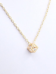 XIXI Women's The Newest Fashion Casual Gold Plated/Rhinestone The Necklace