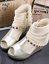Women's Shoes  Wedge Heel Heels Sandals Casual Black/Gold