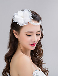 Bride's Flower Crystal Forehead Wedding Headdress Hair Accessories 1 PC