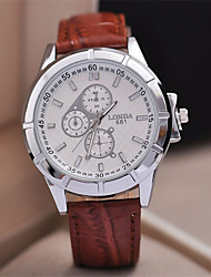 Jinshi neuen Männer hohe Qualität japanische Quarz-Uhrwerk wasserdichte Uhr