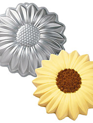 FOUR-C Sunflower Shape Aluminum Cake Baking Tools Baking Pan Mold