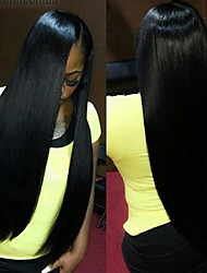 "Lace Front Wigs Malaysian Virgin Hair Straight Malaysian Lace Front Human Hair Wigs For American Black Women 8""-24"""