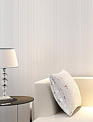 New Rainbown™ Contemporary Wallpaper Stripe Top Quality Fabric Mural wallpaper Wall Covering Non-woven Fabric Wall Art