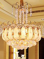 Lustres - Cristal - Cristal/LED - Sala de Estar/Quarto/Sala de Jantar