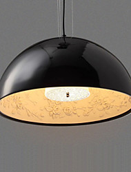 LED Pendant Lights Lighting Ceiling Chandeliers Lamps Fixtures with Black Round D60CM for Indoor Deco