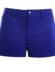 Pantalon Aux femmes Shorts Décontracté / Simple / Vacances / Street Chic Polyester Micro-élastique