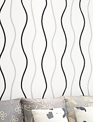 novo arco-íris ™ stripe papel de parede contemporânea parede vertical listras papel de parede que cobre a arte de não-tecidos da parede da