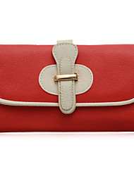 WeiYi Women's Fashion Contracted Character Buckle Purse
