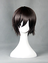 Cosplay Wigs Cosplay Cosplay Brown Short Anime Cosplay Wigs 30 CM Heat Resistant Fiber Male / Female
