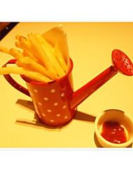 небольшие чайник в форме чипсы держатель кафе сервера горошек новинка посуда (случайные цвета)