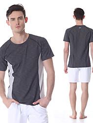 yokaland mens premium snel droog comfort van fitness stretch t-shirt