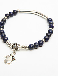 vrouwen kristallen engel hanger streng armband