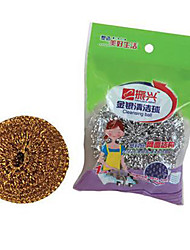 Soldering Solder Iron Tip Kitchen Cleaner Cleaning Copper Wire Ball  (Gold, Silver Random)