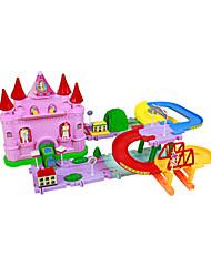 princesse blocs de château, fantastique dessin animé pour enfants, jouets intellectives de bloc de construction pour les enfants