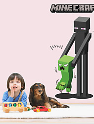 3D Wall Stickers Wall Decals Style My World Small Black PVC Wall Stickers