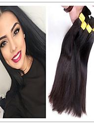 """3pcs / lot capelli all'ingrosso per intrecciare i capelli unprocesseds conveniente bundle f rom 14 """"a 34"""" all'ingrosso"""