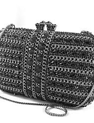 Women Crystal Clutch Bag