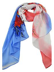 2015 New Fashion Flower Pinted Fashionable Scarf