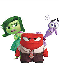 IINSIDE OUT Disgust Movie Wall Sticker Kids Bedroom Decoration
