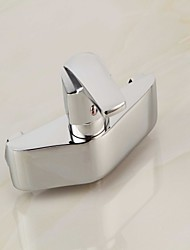 Tub Faucet Contemporary Chrome Finish with Handshower