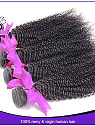 Grade 7A Peruvian Virgin Hair Weave Peruvian Curly Virgin Hair Remy Human Hair Bundles Peruvian Deep Curly