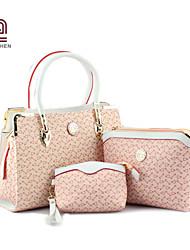 Handcee® Women Fashion PU Composite Bag Elegance Design Composite Bag