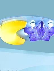 Montagem do Fluxo - Madeira/Bambu - LED - Quarto das Crianças
