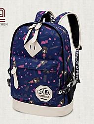 handcee® venta caliente nueva moda mujer linda mochila de lona