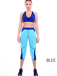 Women Cotton/Others Thin Summer Style Women Sport Capris Sports Clothing For Women Fitness Workout Brand Leggings