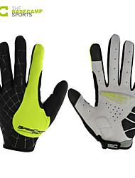 Basecamp Shipping Cycling Bike Bicycle Gloves Nylon Winter Warm Sports Full Finger Gloves GreenBC-202L