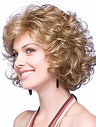 moda europeus e americanos must-have garota loira peruca de alta qualidade