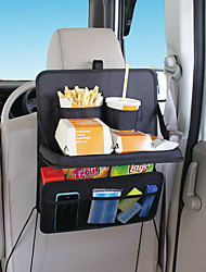 Portable Car Seat Tray Mount Meal Desk Stand Drink Cup Holder Multi Tray Food Car Stand Rear Seat Beverage Rack