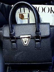 la borsa di cuoio goffrato donne mitesi