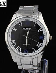 Men's Fashion Classic Water-Proof Quartz  Steel Belt Watch(Assorted Colors)