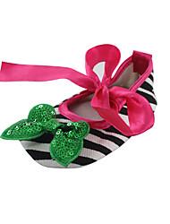 Zapatos de bebé - Planos - Exterior / Vestido / Casual - Tejido - Negro