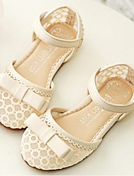 Girls' Shoes Casual Closed Toe Tulle Sandals Pink/Beige
