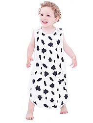 Unisex Baby's Sleeveless Wearable Blanket Sleep Sacks Sleepbag Toddler Swaddle Grow Bag Sleepwear for Summer