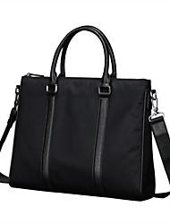 moda x.bnj alta calidad oxford cuero genuino para los hombres negros maletines únicas de diseño de portátiles mensajero originales