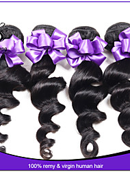 Malaysian virgin hair loose wave 3pcs unprocessed virgin malaysian hair bundles cheap malaysian loose wave