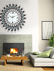 diamant de fer moderne mur horloge design