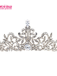 Neoglory Jewelry 2015 Hot Sale Pretty Tiaras Rhinestone Crown Bridal Wedding Hair Jewelry Women Hair Accessories