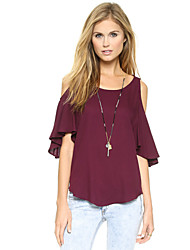 Women's Sexy Beach Casual Party Chiffon Blouse