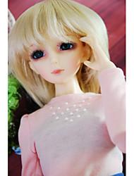 """Tita 1/3 8-9 """"dal msd pullip bjd sd luts souper dollfie poupée courte perruque blonde"""