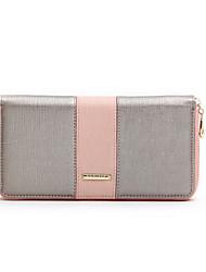 2015 European PU Leather Bags Women Purse Lady Wallets Female Purse Evening Bag Fashion Zipper Wallet