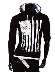 T-Shirts ( Algodão ) MEN - Casual Manga Comprida