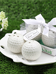 Golf Ball Salt & Pepper Shakers