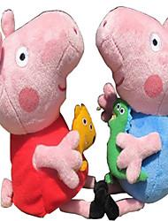 Muñecos de peluche - juguetes de peluche - Felpa - Rosa - 7inch/19cm -
